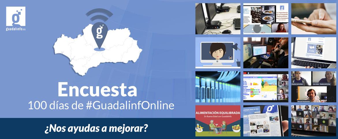 Encuesta 100 días de #GuadalinfOnline
